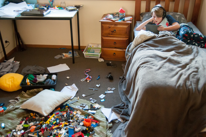 Kid's Messy Room